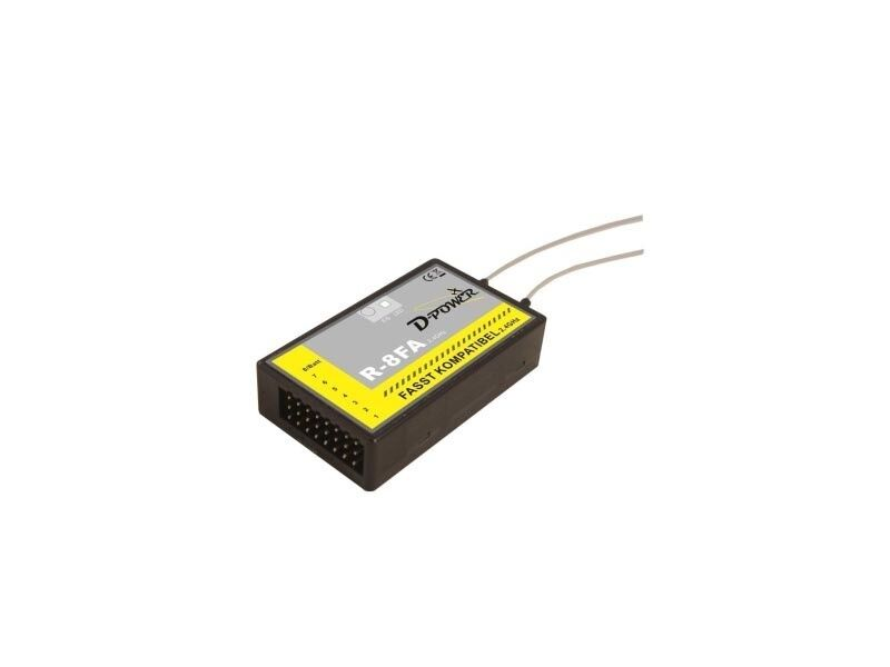 D-power r-8fa - 2.4 GHz receptor FASST compatible-r8fa