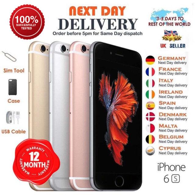 Apple iPhone 6 S 16 Go 32 Go 64 Go 128 Go Déverrouillé SIM Free Smartphone Various degré