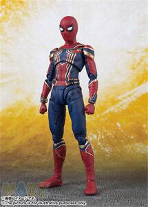 S-H-Figuarts-The-Avengers-3-Infinite-Krieg-Iron-Spider-Man-Actionfigur-SHF-Modell