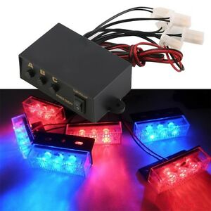 6-Ways-LED-Strobe-Flash-Light-Lamp-Emergency-Flashing-Controller-Box-12V-BR
