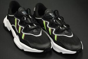 Details about [EE7002] NEW MEN'S ADIDAS ORIGINALS OZWEEGO CORE BLACK SOLAR GREEN ONIX AM352