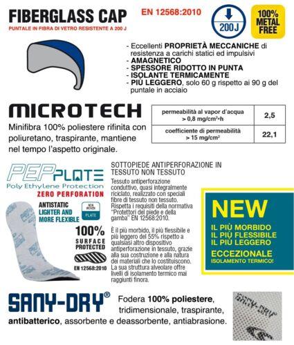 Scarpa da lavoro COFRA NICE S1 P SRC tessuto altamente traspirante e MICROTECH