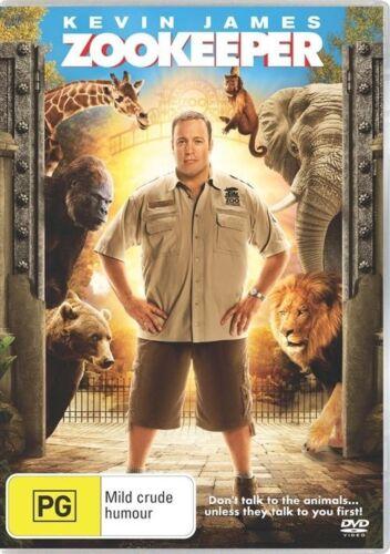1 of 1 - Zookeeper NEW & SEALED DVD Kevin James Leslie Bibb Rosario Dawson Ken Jeong