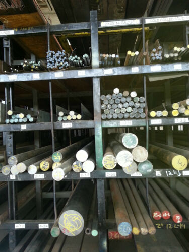 """Cold Roll Steel Round Bar Alloy 1018-2/"""" x 48/"""""""
