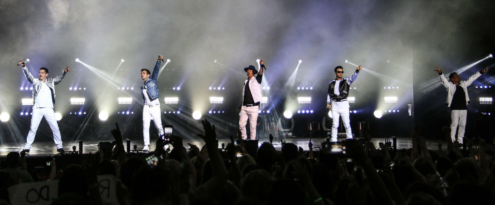 New Kids On the Block with Paula Abdul and Boyz II Men