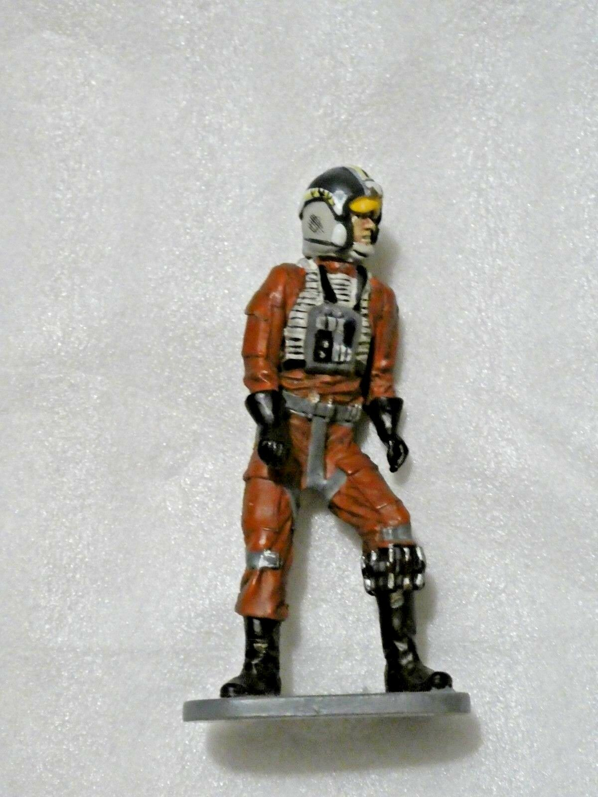 "StarWars collection : STAR WARS Vintage  FIGURINE EN PLOMB "" WEDGE ANTILLES "" LUCASFILM  RARE"