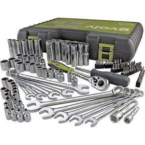 new craftsman 101 piece mechanics tool set garage kit socket wrench screwdriver ebay. Black Bedroom Furniture Sets. Home Design Ideas