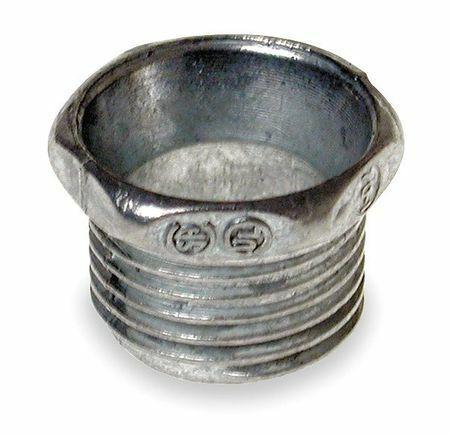 Raco 1664 Nipple,1 In Conduit,Zinc,27/32 In L