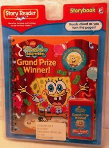 Story-Reader-Spongebob-Grand-Prize-Winner-Storybook-amp-Cartridge-FREE-SHIPPING