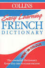 Collins Easy Learning French Dictionary: Colour Edition by HarperCollins Publishers (Paperback, 1998)