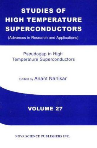 PseudoGAP in High Temperature Superconductors Hardcover A. V. Narlikar