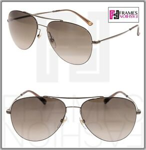 8f17272989 Image is loading GUCCI-TECHNO-Aviator-GG2245S-Bronze-Olive-Gradient-Metal-
