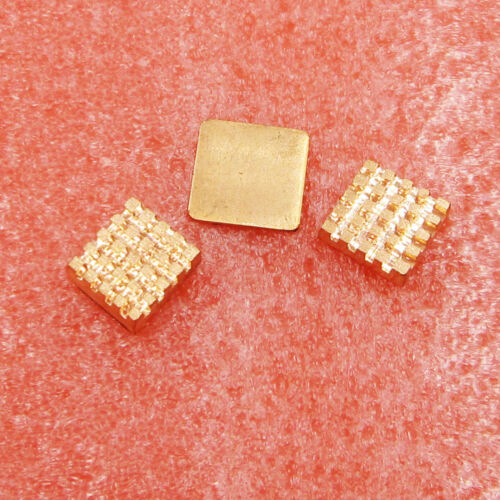 1 Set Pure Copper Heatsinks 3 Pieces of Cooling Body Cooling Kit for Raspberry P