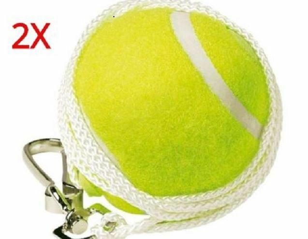 2 PIECE TOTEM TENNIS BALL REPLACEMENT BACKYARD  TRAINER SPARE BALL HOOK & STRING