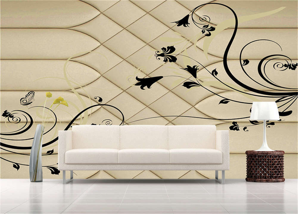 Clear Habitual Lotus 3D Full Wall Mural Photo Wallpaper Printing Home Kids Decor