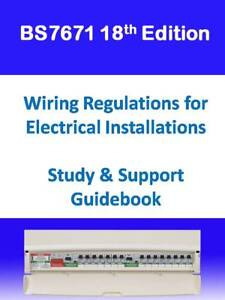 Awesome 18Th Edition Bs7671 Iet Wiring Regulations Study Support Guide Wiring Digital Resources Funapmognl
