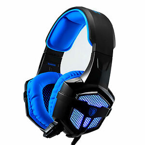 Sades Gamer SA806 Headphones Headset Microphone with LED Light for PC Laptop - Swindon, United Kingdom - 1. Please contact us before you return the item. After Receiving your message, we will confirm and send you the return address. 2. Please return your item in new condition with original packaging and accessories, and remember to  - Swindon, United Kingdom