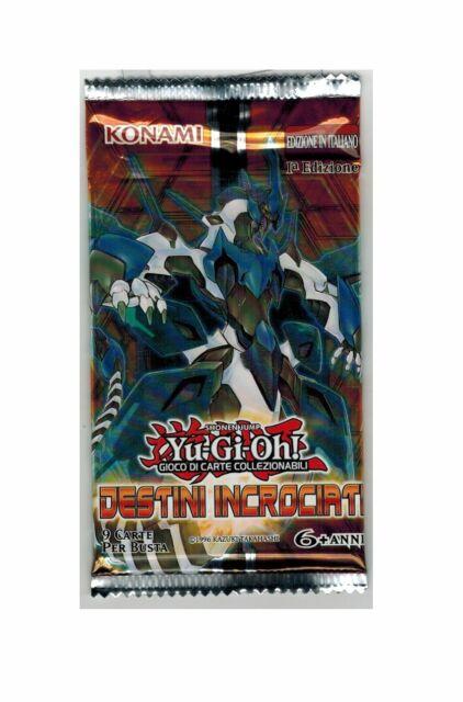 Yu-Gi-Oh Destini Incrociati Cards Bustina 1 Edizione