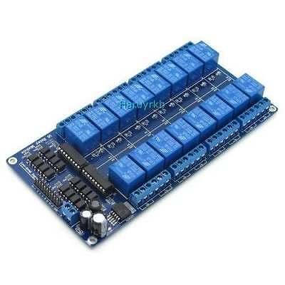 16-Channel Relay 12V Module for Arduino UNO MEGA 2560 R3 Raspberry Pi Board