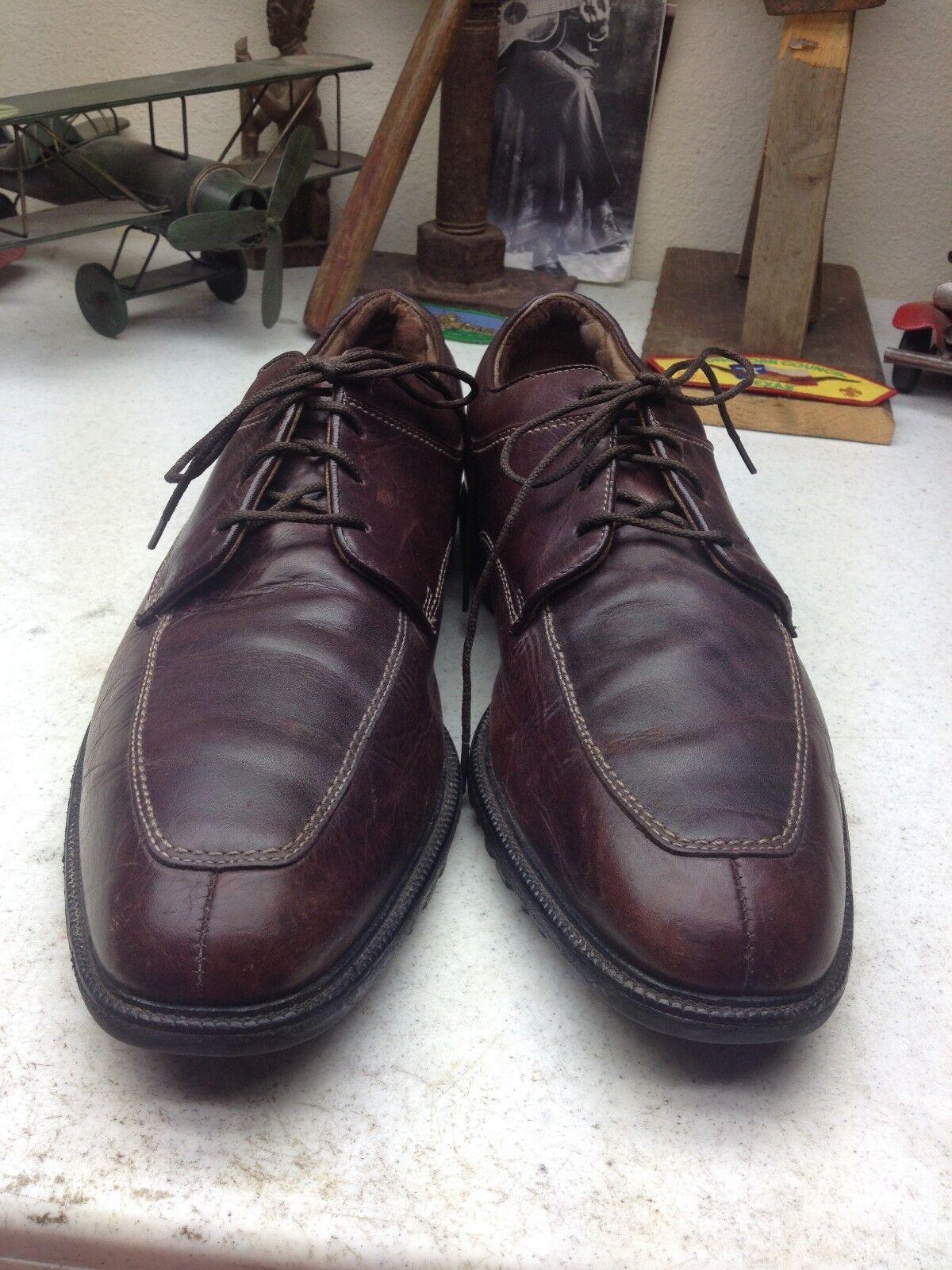 FOOTJOY Marrones Cuero Con Cordones Zapatos Para 13N Caminar 13N Para 5913c1