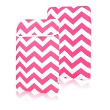 """Chevron HOT PINK Sleeve Bag Cover  for All 13"""" Macbook / Air / Pro / Chromebook"""