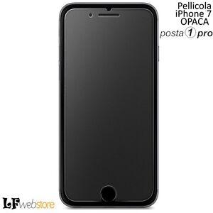 Pellicola In Vetro Temperato Opaco Per Iphone 7 Proteggi Display Posta1 Ebay