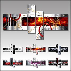Vnartist leinwand kunstdruck bilder modern abstrakt x1 ebay - Moderner kunstdruck leinwand ...