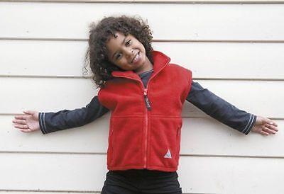 RESULT R33J HIGH QUALITY KIDS FLEECE JACKET QUARTER ZIP WARM CHILDS CHILDRENS