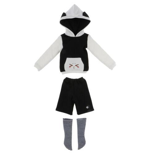 Pull à Capuchon Pantalons Chaussettes Convient pour Vêtement Accessoire