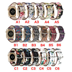 40-44mm-Floral-iWatch-Leather-Strap-Women-Band-for-Apple-Watch-Series-6-5-4-3-SE