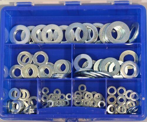 U-vitres-Assortiment Box Set Din 125 Galvanisé 166 Pièces