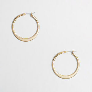 J-Crew-Hoop-Earrings-Style-51025-NWT-LOT-OF-10-SILVER-GOLD