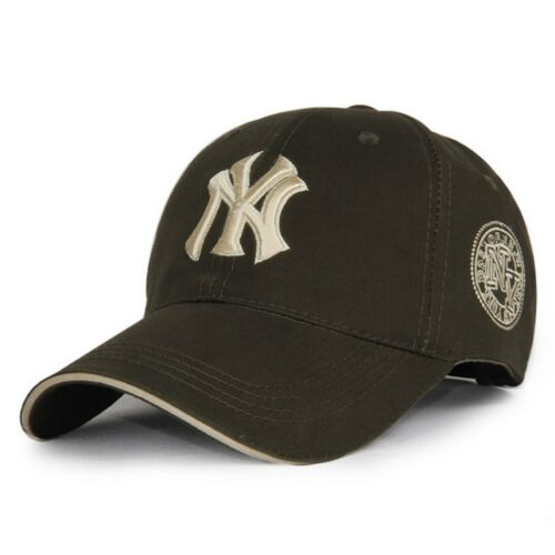 Réglable New York Yankees broderie Plain Sports Baseball Cap Trucker Hat