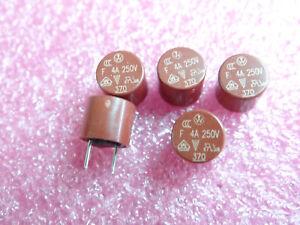 3821100041 5 x Wickmann PCB Sicherung NEU T 1A Radial 250V