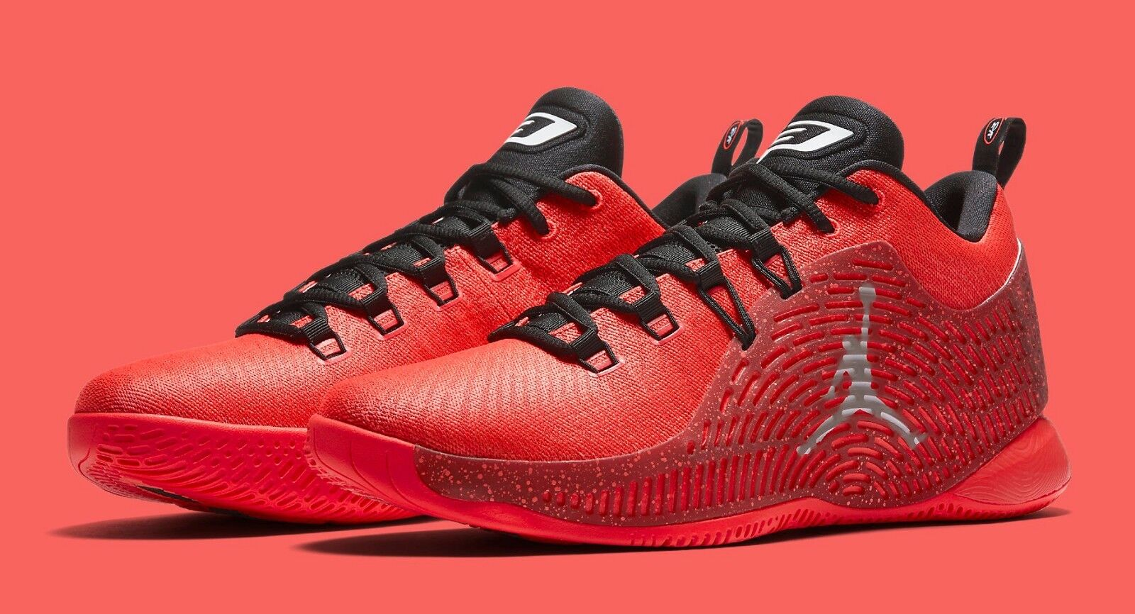 Air Jordan CP3.X 10 size 15. Infrared Black Red. 854294-600. Chris Paul.