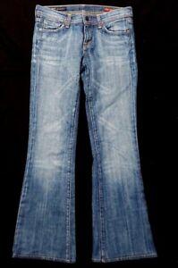 Citizens-of-Humanity-Womens-Denim-Jeans-Sz-26-Ingrid-002-Low-Waist-Flare-Stretch