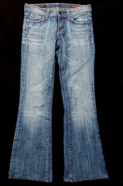 Citizens of Humanity Womens Denim Jeans Sz 26 Ingrid 002 Low Waist Flare Stretch