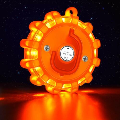 6 LED Road Emergency Light Roadside Safety Beacon Flashing Warning Kit Car Truck