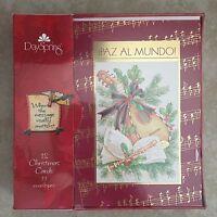 Dayspring Boxed Spanish Christmas Cards -tarjetas Navidenas - Nacio Jesus