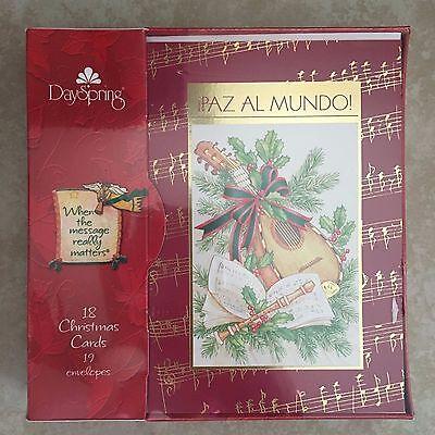 Dayspring Christmas Cards.Dayspring Boxed Spanish Christmas Cards Tarjetas Navidenas Nacio Jesus Ebay