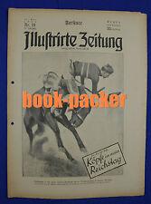 BERLINER ILLUSTRIRTE ZEITUNG 1924 Nr. 19: Die neue Everest=Expedition