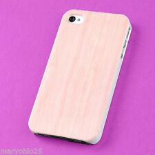 L3X Colorful Wood Grain Back Skin Hard Cover Case for Apple i-phone 4 4S 4G G S