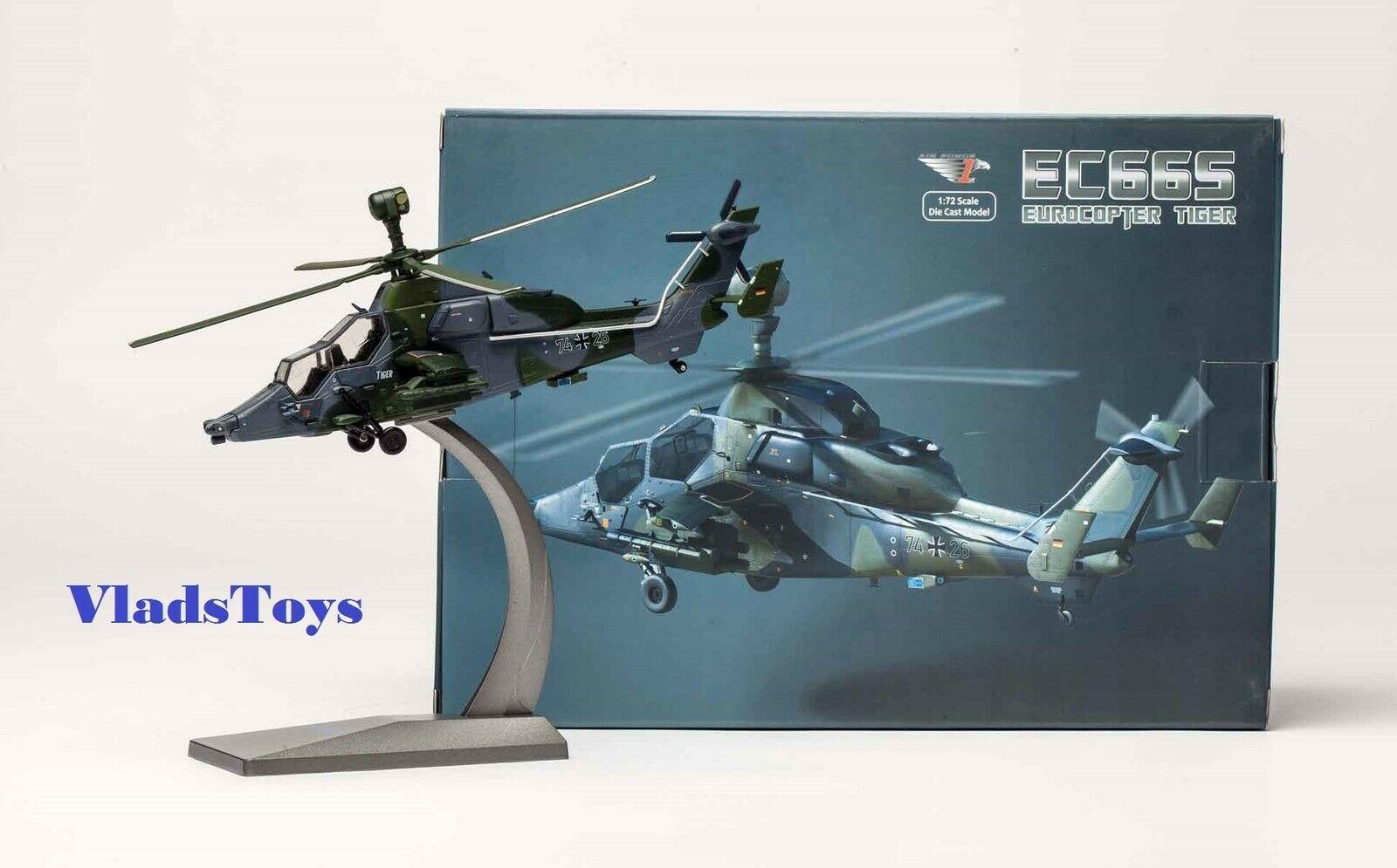 Con 100% de calidad y servicio de% 100. Air Force 1 1 1 1 72 Eurocopter Ec 665 Tiger Ejército Alemán Ataque Helicóptero  increíbles descuentos