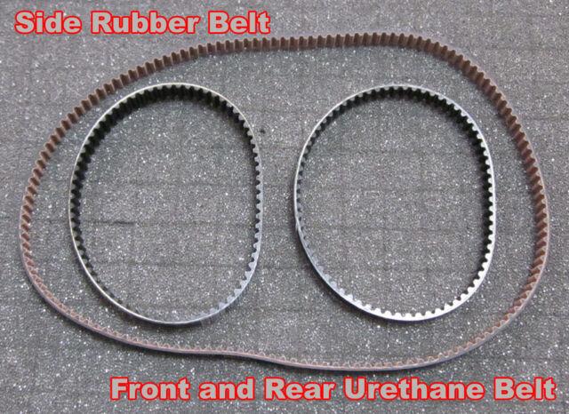 TOUGHRACING Mugen Seiki MRX3 MRX4 FRONT Rubber belt replace D0240 H0245