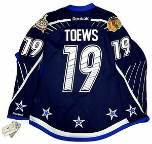 brand new 21229 39438 Details about JONATHAN TOEWS CHICAGO BLACKHAWKS REEBOK PREMIER 2012 NHL ALL  STAR JERSEY NEW