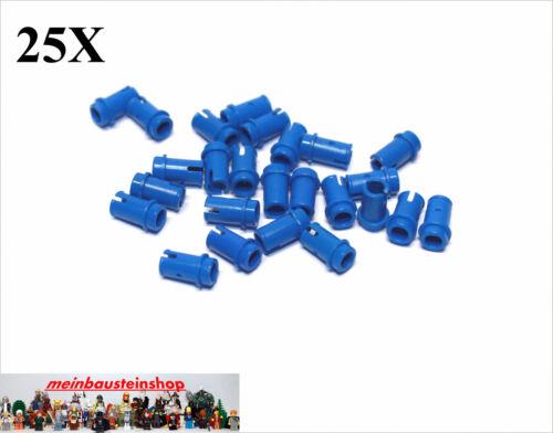 Baukästen & Konstruktion 25X Lego® 4274 Technic kurze Pins Verbinder Connector 1/2 Blau Blue
