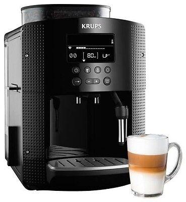 Krups EA8150 Automático De Capuchino Café Espresso Cafetera Negro | eBay