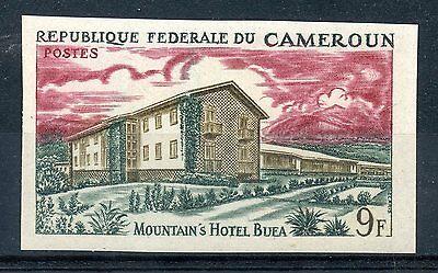 Stamp Timbre Du Cameroun N° 417 Non Dentele Resource Hoteliere Durable Service