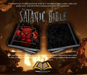 Details about The Satanic Bible - Anton LaVey - Devil by BooksRecovered  FREE SHIPPING