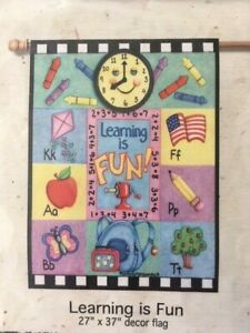 Learning-is-Fun-Decorative-House-Flag